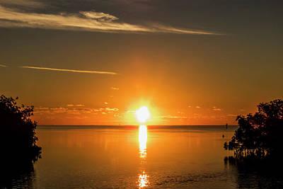 Photograph - First Key West Sunrise 2018 D by Bob Slitzan