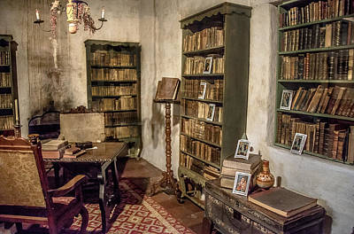Photograph - First Library by Patrick Boening