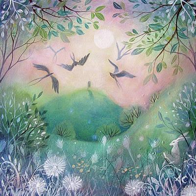 First Light Art Print by Amanda Clark