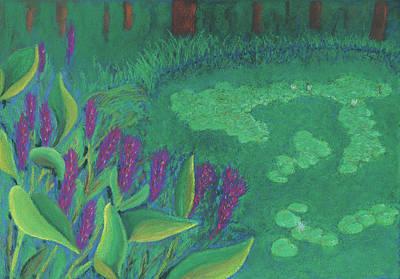 Pastel - First Light by Anne Katzeff