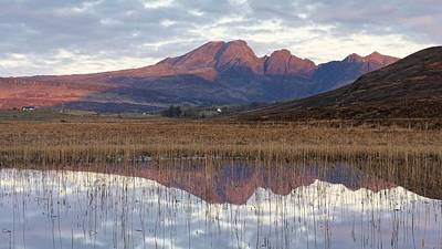Photograph - First Light At Blaven by Stephen Taylor