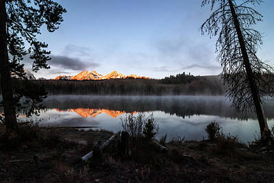 Photograph - First Light At Sawtooths Stanley Idaho by Vishwanath Bhat