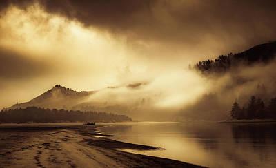 Photograph - First Light Glow by Don Schwartz