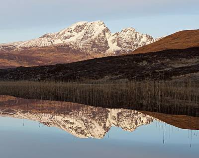 Photograph - First Light Hits Bla Bheinn by Stephen Taylor