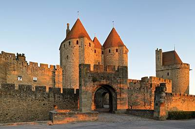 Photograph - First Light Hits Narbonne Gate by Stephen Taylor