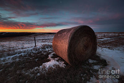 Bale Photograph - First Light by Ian McGregor