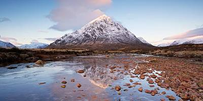 Photograph - First Light In Glencoe by Stephen Taylor