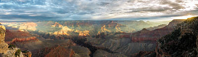 Photograph - First Light In The Canyon by Jon Glaser