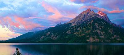 Photograph - First Light In The Tetons by Polly Castor