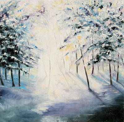 Painting - First Light by Meaghan Troup