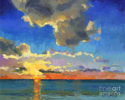 Painting - First Light by Nancy  Parsons