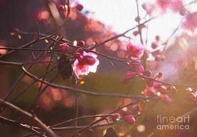 Digital Art - First Light Of Spring by Helen White