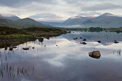Photograph - First Light On Rannoch Moor by Stephen Taylor