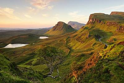 Photograph - First Light On Trotternish by Stephen Taylor
