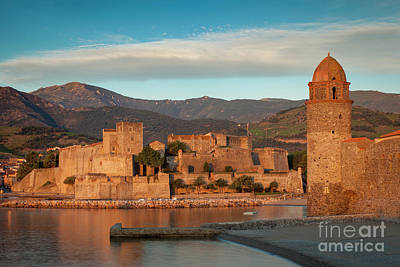 Photograph - First Light Over Collioure by Brian Jannsen