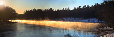 Photograph - First Light Over The Kennebec by John Meader