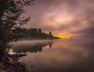 Photograph - First Light Through Fog by Francisco Gomez