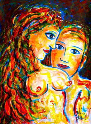 First Love Art Print by Natalie Holland