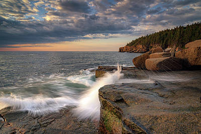 Photograph - First Morning Of Summer In Acadia by Rick Berk