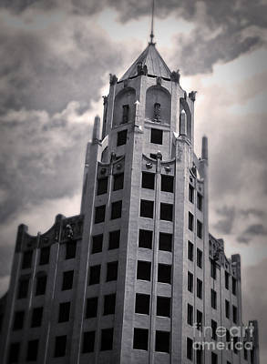 Photograph - First National Bank Building In Hollywood by Gregory Dyer