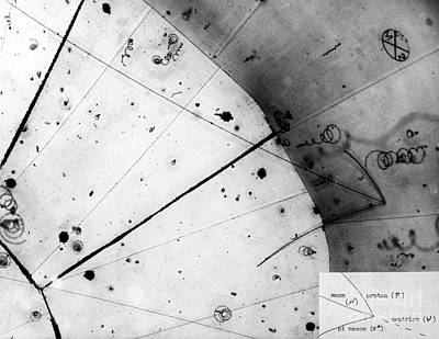 Particle Detector Photograph - First Neutrino Interaction, Bubble by Science Source