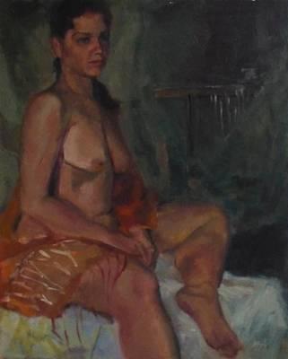 Painting - First Night by Irena Jablonski
