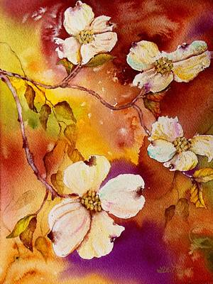 Painting - First Of The Dogwoods by Lil Taylor