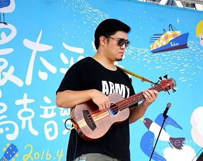 Photograph - First Pacific Rim Ukulele Festival In Kaohsiung by Yali Shi
