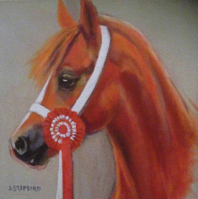 Wall Art - Painting - First Place by Alison Stafford