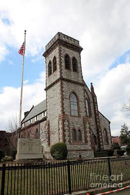 Photograph - First Presbyterian Church Of Newtown by Steven Spak