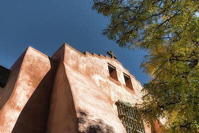 Photograph - First Presbyterian Church Of Santa Fe by James Barber