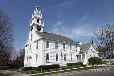 Photograph - First Presbyterian Church Of Smithtown by Steven Spak