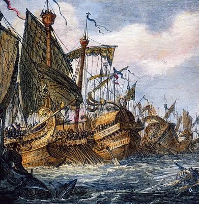 First Punic War Battle Art Print by Granger