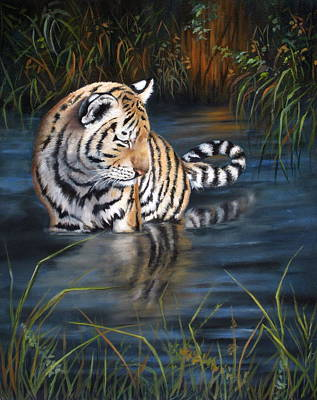 First Reflection Art Print by Mary McCullah