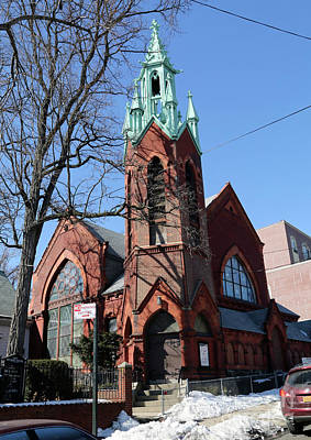 Photograph - First Reformed Church Of Astoria And Church Of Deliverance Pentecosta by Steven Spak