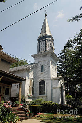 Photograph - First Reformed Church Of College Point by Steven Spak