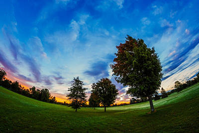 Photograph - First Signs Of Autumn by Chris Bordeleau