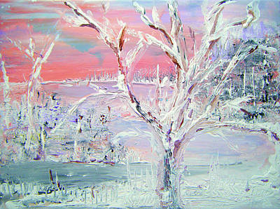 Painting - First Snow by Colleen Ranney
