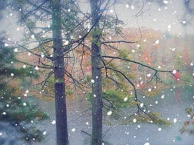 Photograph - First Snow by Glenda Barrett