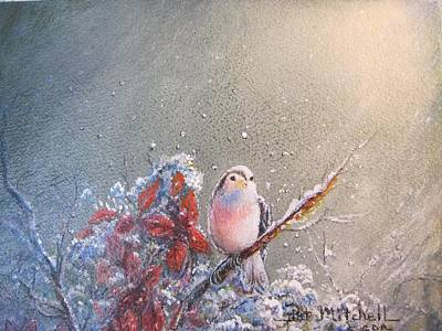 Painting - First Snow by Patricia Schneider Mitchell