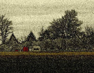 Photograph - First Snow by Val Arie