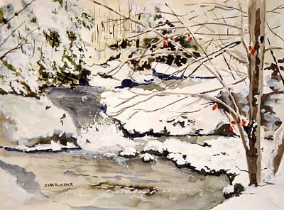 First Snowfall Original by Jean Blackmer