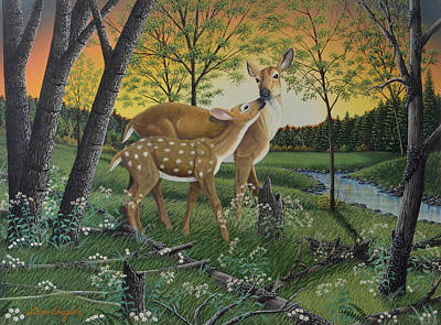 Painting - First Spring by Don Engler