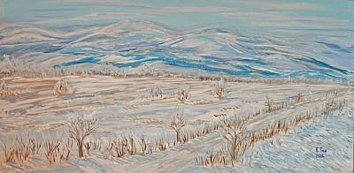 Painting - First Time... Winter Memories by Felicia Tica