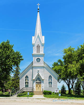 Photograph - First Trinity Lutheran Church by Edward Peterson