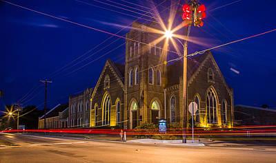 Photograph - First United Methodist Church Crockett Texas by Micah Goff