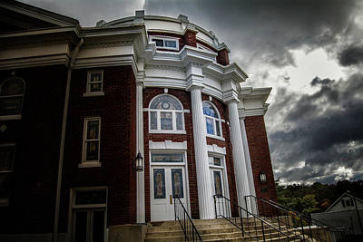 Photograph - First United Methodist Church In The Light by Greg Mimbs