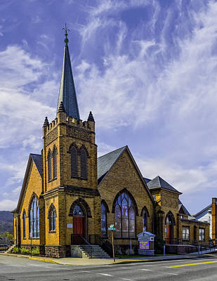 Photograph - First United Methodist Church, Millersburg Pa by Nick Zelinsky