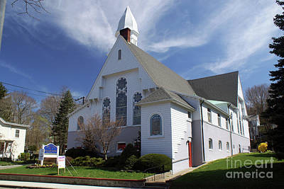 Photograph - First United Methodist Church Port Jefferson by Steven Spak