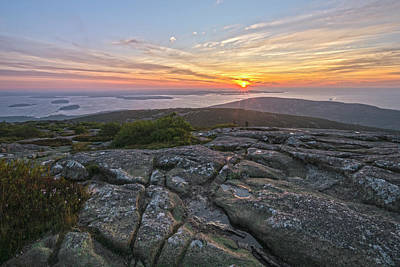 Photograph - First View Of  A Cadillac Mountain Sunrise by Angelo Marcialis